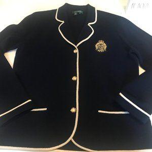 Lauren Ralph Lauren Signature Emblem Blazer XL
